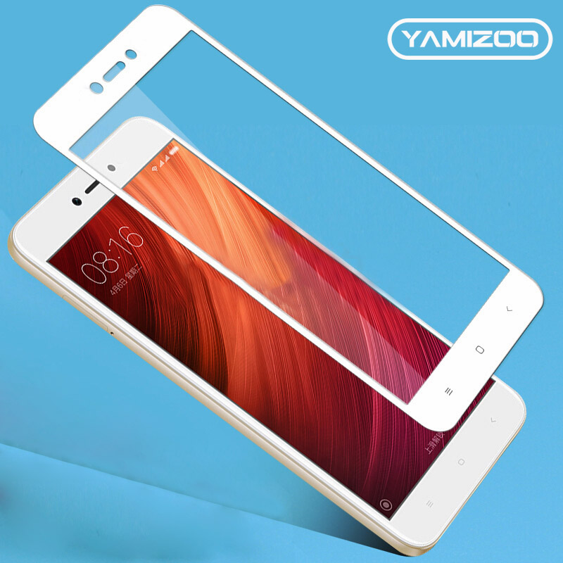 YAMIZOO Tempered Glass For Xiaomi Redmi Note 5a Prime Protective Glass For Xiaomi Redmi Note 5a Pro Screen Protector Film On 9H