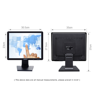 """Image 5 - Anmite 15 """"Touch TFT Monitor Lcd Monitor del Pc Capacitivo/Resistivo Touch Screen Display A LED di Tocco per Terminale Pos Industriale uso monitor"""