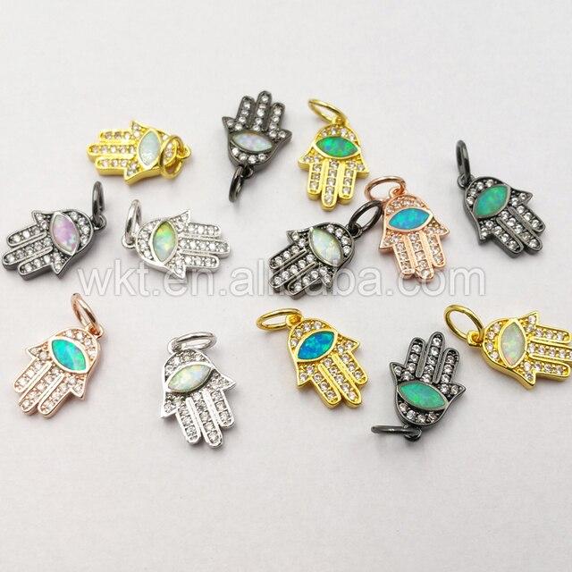 Wt P1082 Wholesale Beautiful Buddha Palm Opal Pendant Beautiful