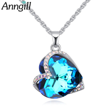 2018 Valentines Day gift Heart Pendant Necklace For Women
