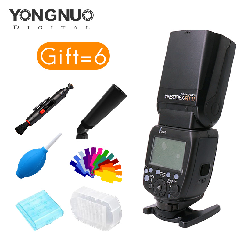 Yongnuo YN600EXRT II Speedlite 1/8000s shutter speed Photoelectric Cited-flash and 2.4G wi