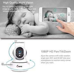 Image 3 - Keeper HD IP מצלמה WiFi אלחוטי אבטחת בית מצלמה מעקבים מצלמה 1080P 2MP תינוק צג ראיית לילה CCTV מצלמה 3