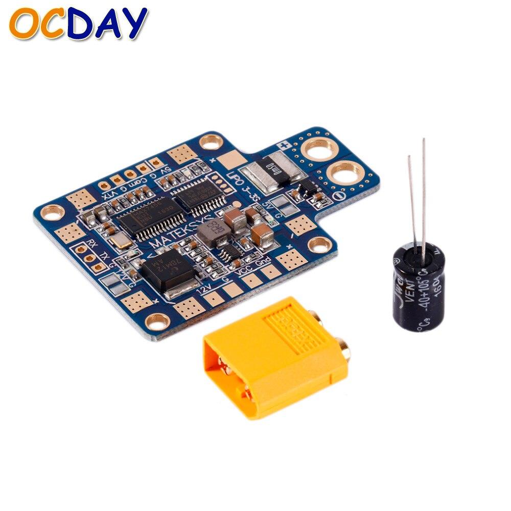 1 unids ocday Matek hubosd eco x tablero de distribución de energía Hub OSD PDB sensor de corriente