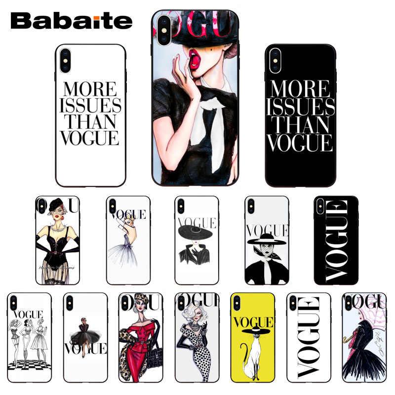 Babaite כוכב אישה יותר בעיות מ ווג טלפון מקרה עבור iPhoneX XS XR XSMax 6 6S 7 7 בתוספת 8 8 בתוספת Xs 5 5S SE 5c11 11pro 11promax
