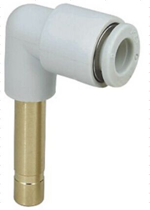 Tube size 8mm to 9mm pneumatic  plug in elbow fitting