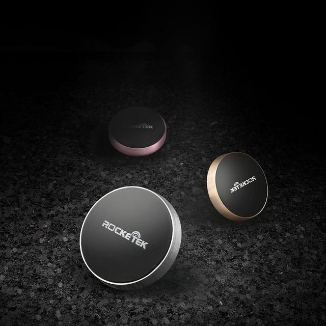 Rocketek Mini Magnetic Mobile Phone Holder Car Dashboard Bracket Cell Phone Holder Stand For iPhone Samsung Magnet Mount Holder