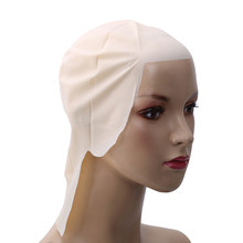 High Quality 30cm Width Funny Latex Skin Fake Bald Head Unisex Fancy Movie Party Dress Skinhead Wig Cap Hot Sale(China)