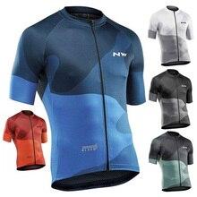 Мужской Pro короткий рукав Велоспорт Джерси полиэстер одежда из Джерси для езды на велосипеде команда Топ Джерси дышащий Джерси