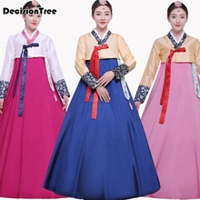 2019 korean traditional dress hanbok clothing national costume