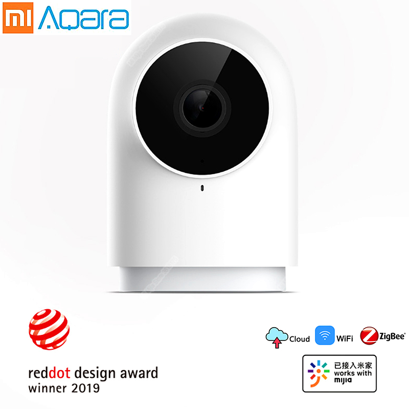 Aqara caméra IP intelligente G2 zigbee hub passerelle fonction WIFI 1080 P HD 140 degrés vue pour mi jia mi accueil APP Kit intelligent xiaomi nouveau