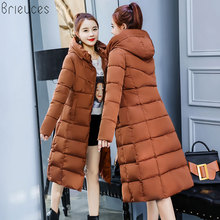 Beieuces 2018 Warm Winter Jacket Women long Parkas Outwear Bread Loose Style warm Coat women Hooded plus size Thicken