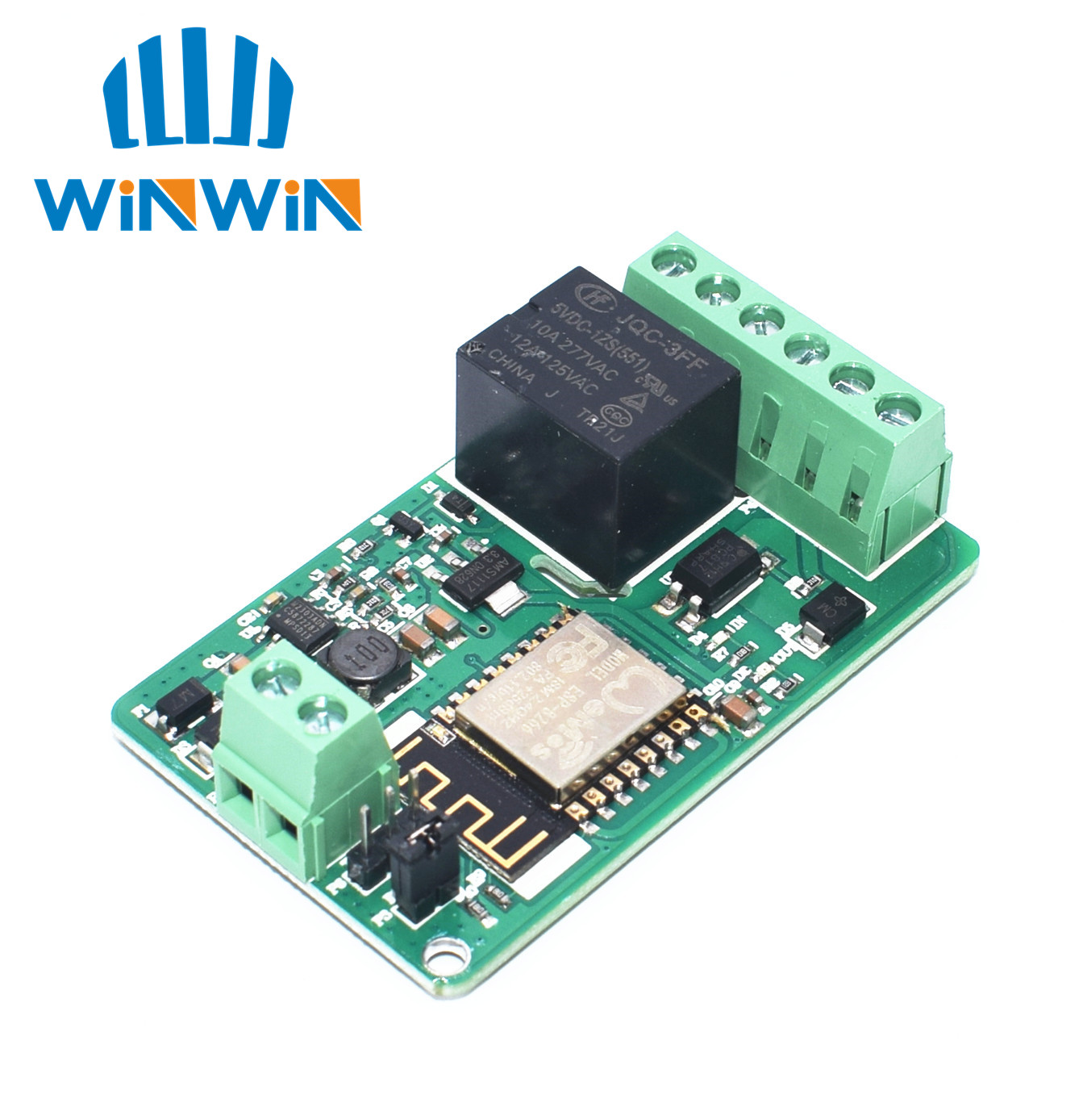 1pcs Hlk Pm01 Pm03 Pm12 Ac Dc 220v Mini Power Supply Module Solid State Relay Farnell A21 New Arrival Green Esp8266 10a Network Wifi Input 7v