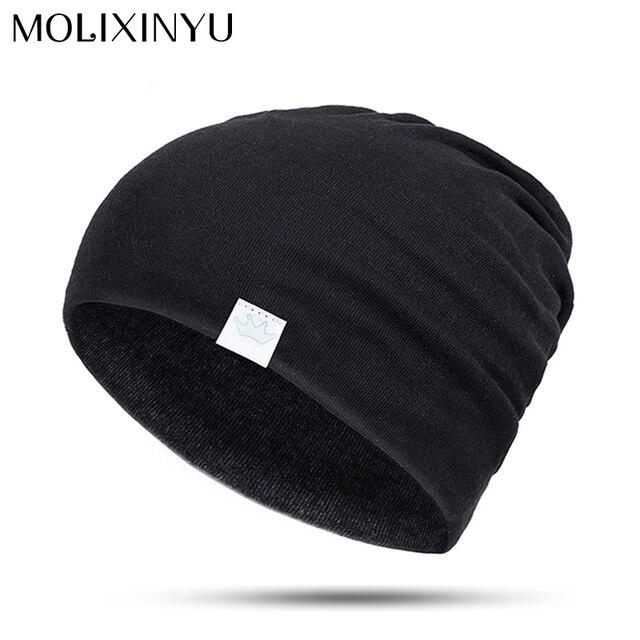 f36a4eb1fe58 MOLIXINYU Bébé Garçon Fille Coton Doux Chapeau Bonnet Enfant Bonnet Bébé  Chapeau D hiver Enfants