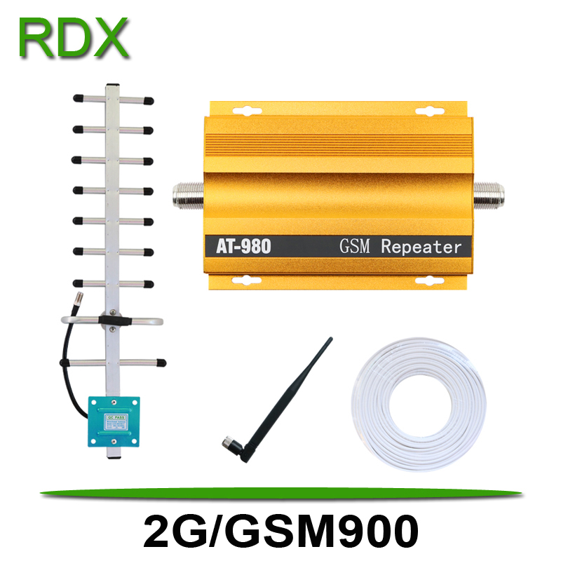 AT980 2G GSM Repeater For Cellphoe GSM900 MHz Signal Booster Amplifier For Mobile Phone GSM900MHz Repeater Amplifier On Sale