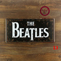 Placas Retro da estrela da música DOS Beatles do metal do vintage sinais de estanho garagem pintura plaque Wall art craft 15x30 cm