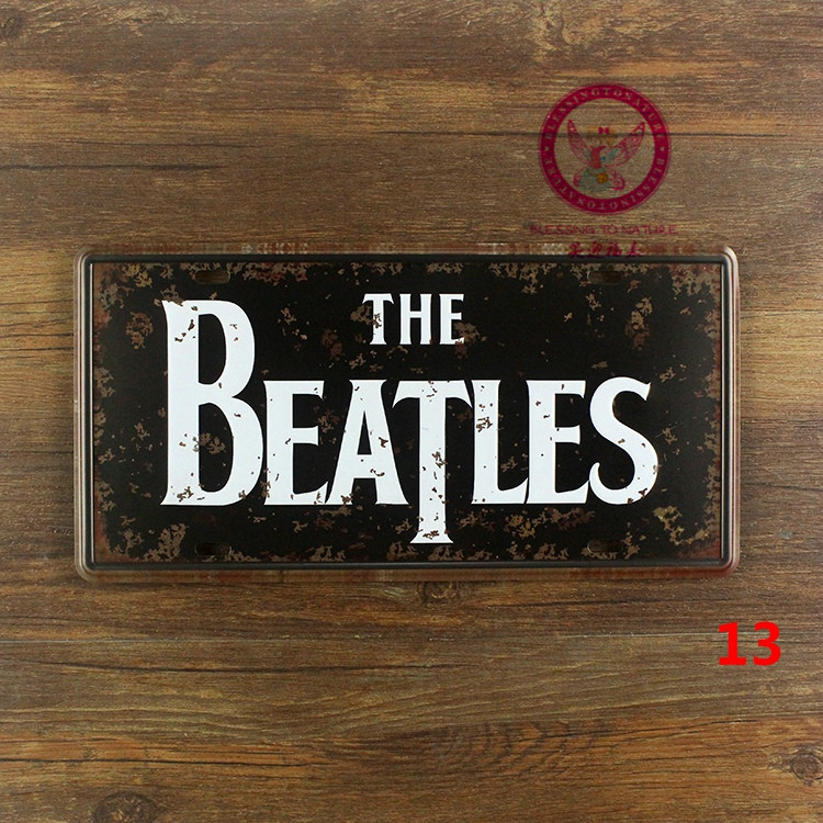 online buy wholesale beatles tin signs from china beatles tin signs wholesalers. Black Bedroom Furniture Sets. Home Design Ideas