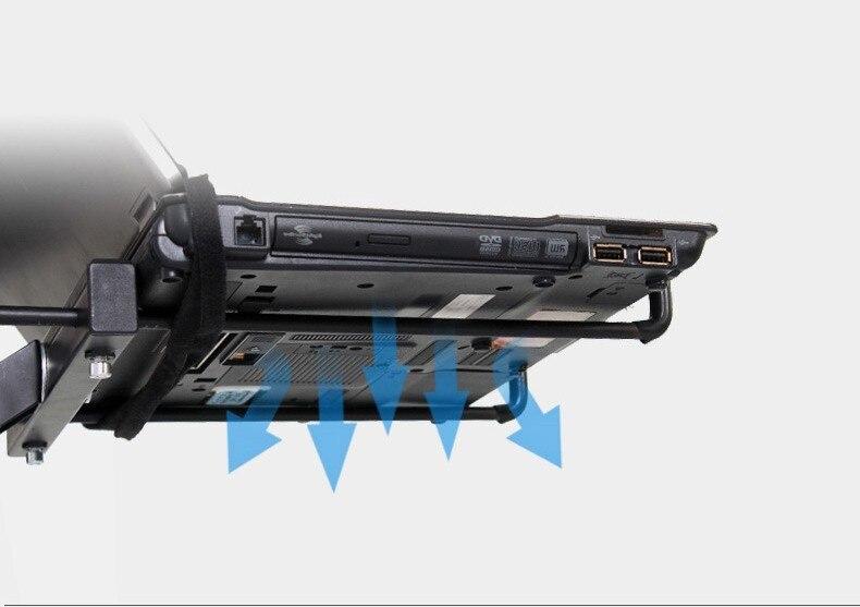 suporte do portátil completo movimento resfriamento lapdesk