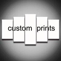 DIY Imagem de Amigos Da Família do bebê Pintura de Fotos Personalizado Imprimir Em Mais Imprimir Cartazes da Arte Da Parede Da Lona Frete Grátis Não quadro