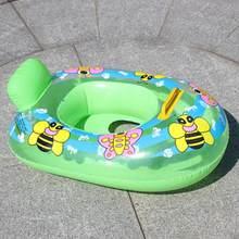 Portátil de verano bebé niños de dibujos animados de seguridad anillo de  natación inflable de La nadada flotador de agua diverti. 75b0805cda3