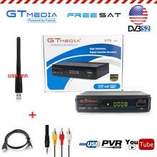 Spain GtMedia V7s HD 1080P Digital Receptor Satellite Receiver TV Tuner 1PC USB WiFi DVB-S2 Power Biss Cline Decoder youtube