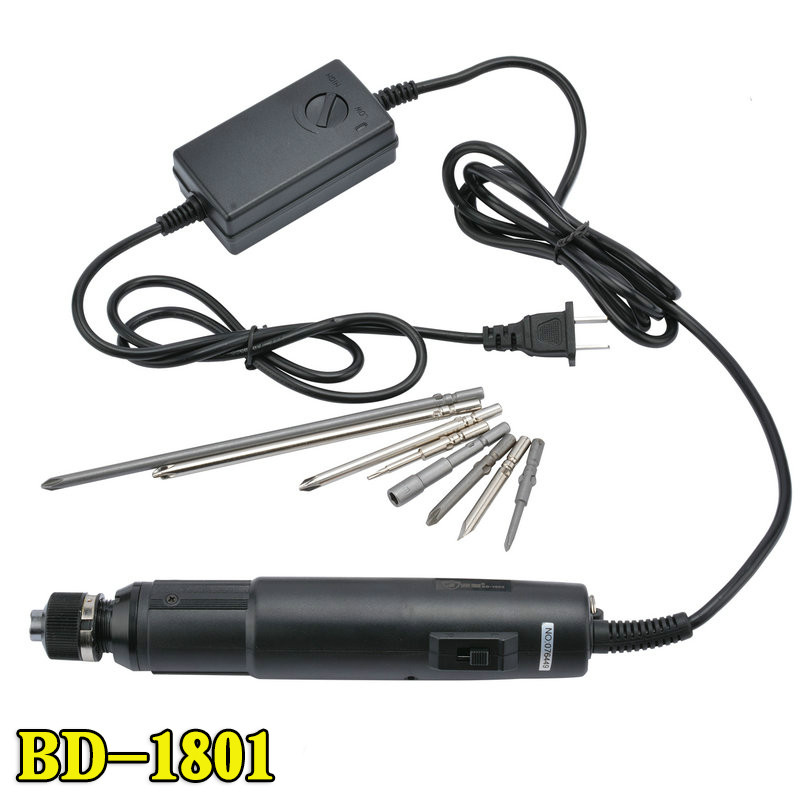 цена на Automatic Electric Screwdriver 220v Electric Line Type Electric Screwdriver BD-1801