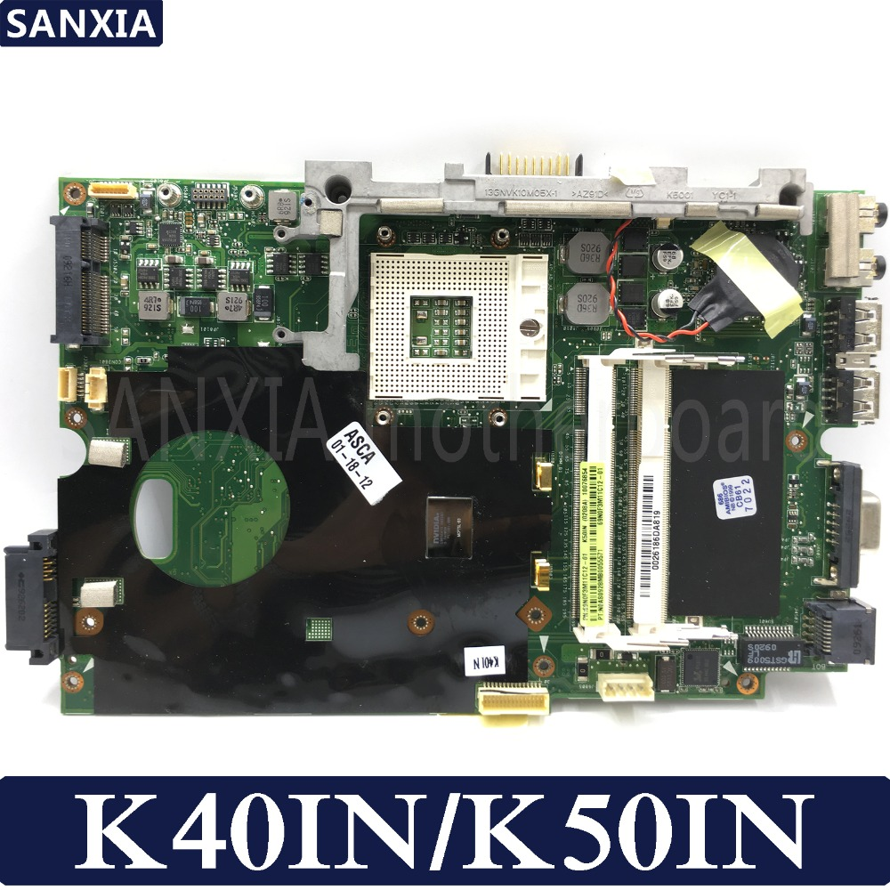 KEFU Laptop motherboard for ASUS K40IN K50IN K50AB K40AB K50IJ X8AIN X5DIN K40IP K50IP K40I K50I 100% Test original mainboardKEFU Laptop motherboard for ASUS K40IN K50IN K50AB K40AB K50IJ X8AIN X5DIN K40IP K50IP K40I K50I 100% Test original mainboard