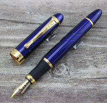 Luxury Jinhao X450 Deep Blue Fine Twist Carven B Nib Fountain Pen