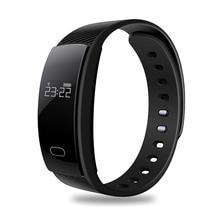 QS80 Smartband Waterproof Sport Bracelet Blood Pressure Heart Rate Health Monitor Wristband Bluetooth 4.0 Activity Tracker OLED qs80 smart bracelet orange