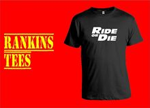 RIDE OR DIE T-Shirt. Small - XXXL Paul Walker Fast and Furious DVD Film Gift New T Shirts Funny Tops Tee Unisex