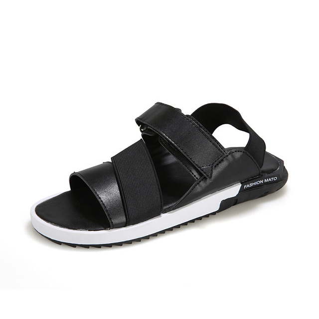 7510b1db9 Noopula Sandale Summer Men Designer Sandals Summer Men Platform Shoes Men s  Casual Brand Plataforma Mens Flatform Beach Leather