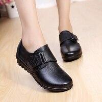2017 Women Flats Shoes Woman Genuine Leather Women Shoes Flats Slip On Women S Flat Shoes