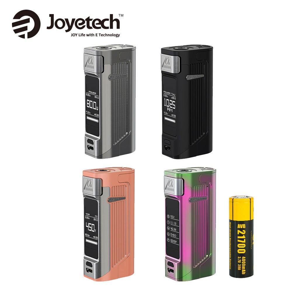 D'origine Joyetech ESPION Solo 21700 MOD 80 w Puissance de Sortie Par 21700 4000 mah Batterie 1.3 pouce OLED Écran Tactile E -cig Vaporisateur Boîte Mod