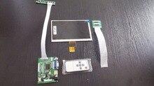 Cheap price 7″ 1024(RGB)*600 40pins TFT HE070NA-13B LCD Screen Display With Remote Driver Control Board 2AV HDMI VGA for Raspberry Pi