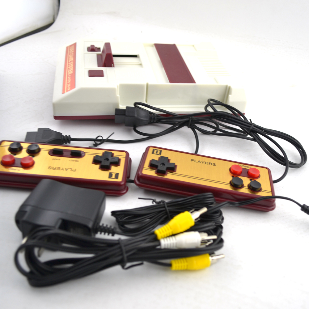 Video Game Console for FC for 8 bit games with controllers цены онлайн