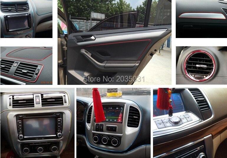 car styling interior trim car stickers for qashqai ford focus 3 ...