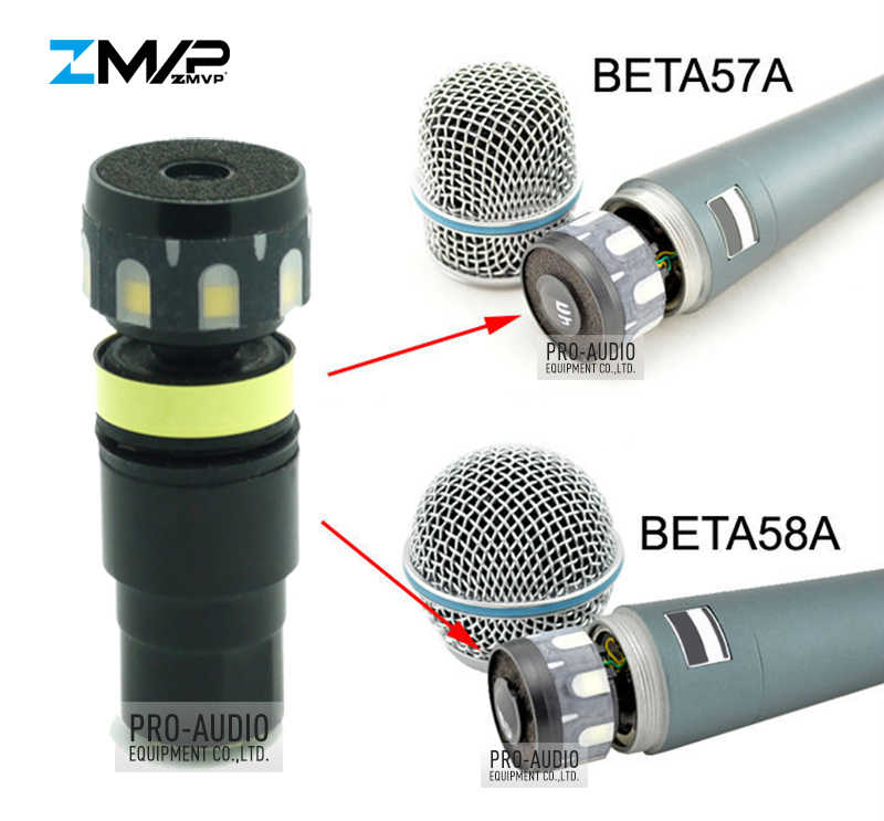 Mic-Tech® RX56 Professional Capsule Cartridge for BETA56 BETA57 wired Microphone
