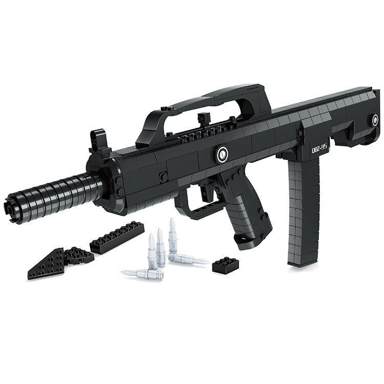 Ausini95 Automatic Rifle Military Arms Building Blocks Educational Toys For Children Plastic Bricks Best Friend Legoe Compatible 2016 ausini 22607 assembled plastic building blocks educational toys for children of military assault rifles toys for children
