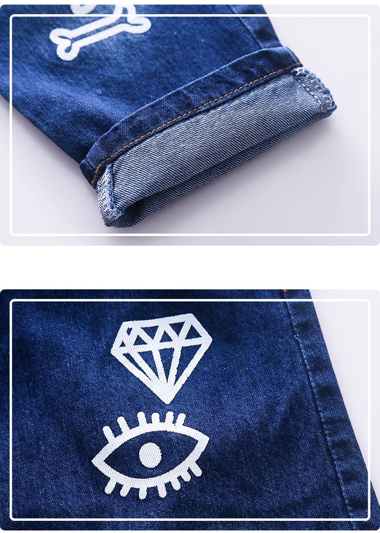 high quality fashion 2017 children jeans for boys kids scrawl pattern denim pants clothing children baby little big boy jeans clothes 6 7 8 9 10 11 12 13 14 15 16 years old (3)