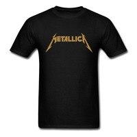 Laukexin Metallica Classic Logo Print T Shirt Heavy Metal Rock Men S Women S Short Sleeve