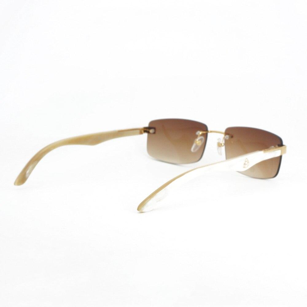 7076212cb359 Vintage Buffalo Horn Glasses Men Wood Sunglasses Men For Summer ...
