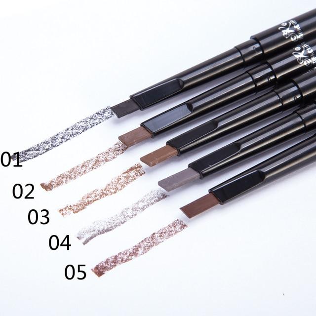 1 Pcs Brand SR MAKE UP Eyebrow Automatic Waterproof Pencil Makeup 5 Styles Paint Eyebrow Pencil Cosmetics Brow Eye Liner Tools 1