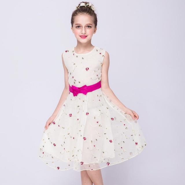 8b701441 3 4 5 6 7 8 9 10 11 12 13 Años Elegante vestidos Para Niñas ...