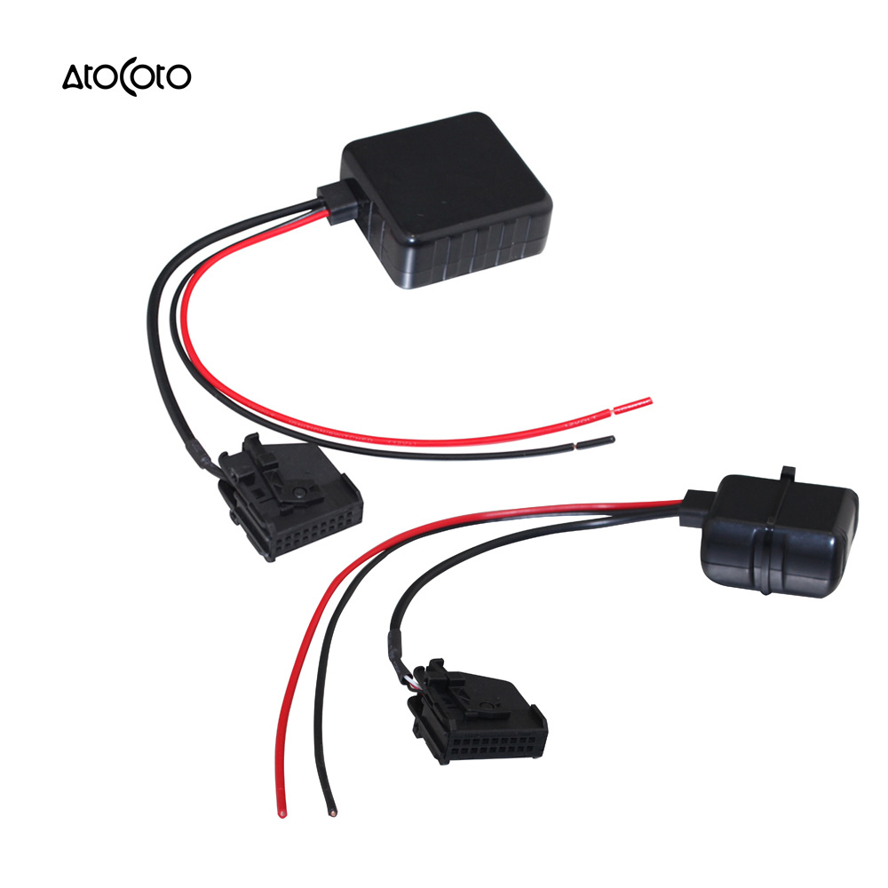 car bluetooth module for benz w202 w203 w211 r129 r170 w461 w163 radio stereo aux cable adapter with filter wireless audio in in cables adapters sockets  [ 1000 x 1000 Pixel ]