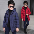 Children's clothing in 2016 the new cuhk tong han edition more hot style fashion line pressing cotton-padded clothes down jacket