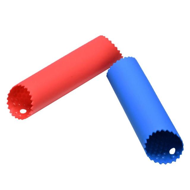1Pc Silicone ail éplucheur ail rouleau décapant Silicone ail épluchage Tube mise à niveau rouleau Tube ail outils cuisine Gadgets 3