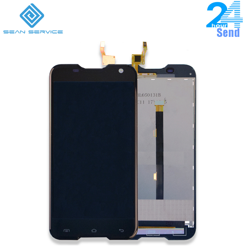 5.0 pollice Per Originale Blackview BV5000 LCD lcd Display + Touch Screen Digitizer Assembly di Ricambio Strumento + adesivo + HD film stock