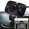 Auto Parktronic HD Car Rear View Reverse Camera With 2 LED Lights Night Vision Car Backup Rear Camera Parking Camera
