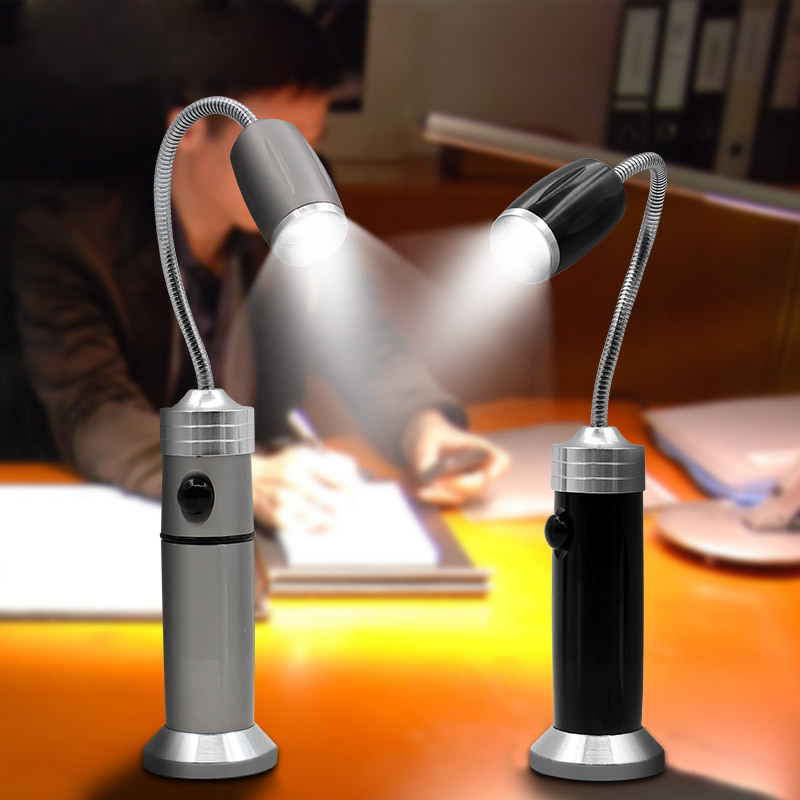 CREE Q5 LED Flashlight torch Maintenance Work Lamp / Magnet Work Examining Light / Working & Reading Light with 18650+charger