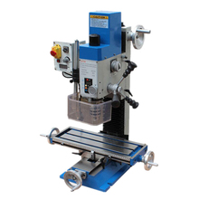 600W 0.8HP Milling Drilling Machine Multifunction MT2 Bench Drill Clamping 16mm AC220V Mill Metal Wood Lathe Processing Machine