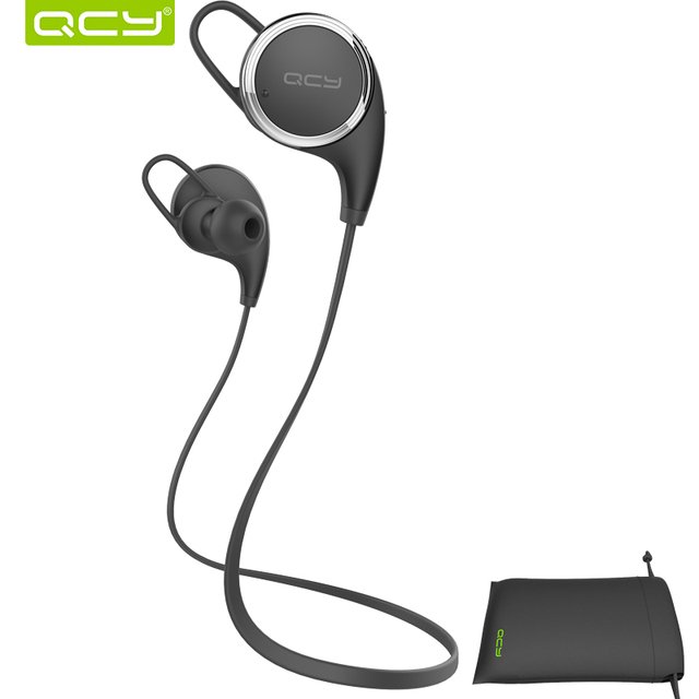QCY combination sets QY8 sports wireless bluetooth 4.1 aptx stereo headphones stereo earphones headset and portable pouch